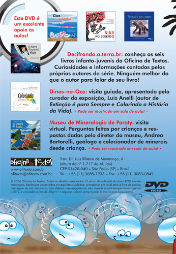 DVD - contracapa